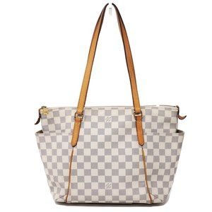 Auth Louis Vuitton Damier Azur Totally PM Tote Bag